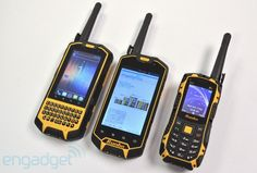 Runbo X5 and X3 rugged Android phones moonlight as walkie-talkies. would be great for my grandpa!