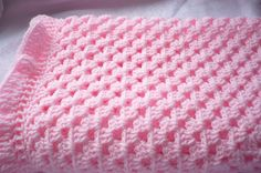 Pink Baby Blanket by Aalexi on Etsy,  Given Unto Me - Prologue  Hermione's baby blanket