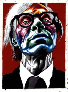 7 Artist Renditions of Andy Warhol #AndyWarhol #PopArt #Abstract