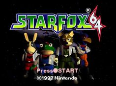 20 years ago today Star Fox 64 was released for the N64.
