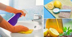 Deja de comprar productos de limpieza químicos y reemplázalos por estas recetas naturales. Además de limpiar tu casa de manera segura, ahorrarás dinero. Anímate a probarlas, seguro tengas muchos de los ingredientes en tu alacena.  Los elementos básicos son: - Vinagre blanco:Por ser ácido, es excelente para remover la grasa y el jabón que se pega en la tina de baño. Además, tiene propiedades antibacterianas. - Bicarbonato de sodio:Además de eliminar los olores, funciona como un suave…