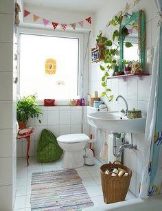 Design e Decoração- Blog de Decoração: Banheiros cheios de estilo