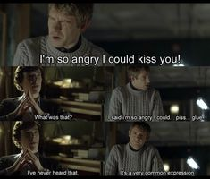 I know Johnlock will never happen, but this is just funny....and cute. <<< Hold on to hope my friend! The actors AND one of the writers are Johnlock shippers!