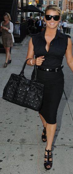 Purse - Christian Dior Sunglasses - Ralph Lauren Shirt - Prada Shoes - Yves Saint Laurent More Yves Saint Laurent.. Similar purse by the same designer More Christian Dior...
