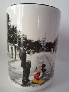 What Walt Disney and Mickey Mouse fan wouldn't love this adorable coffee mug!