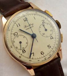 Vintage Watches Collection : (notitle) - Watches Topia - Watches: Best Lists, Trends & the Latest Styles Best Watches For Men, Cool Watches, Men's Watches, Retro Watches, Vintage Watches, Gentleman Watch, Vintage Rolex, Beautiful Watches, Breitling