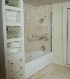 tips: making mini shower surrounds