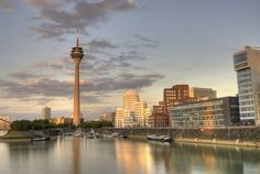 Fernsehturm Hafen Düsseldorf