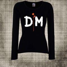 Femme T-Shirt Depeche Mode Rock métal 1 courte/longue manches