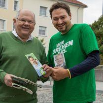 Zwei Tage begleiteten @Pia Kleine Wieskamp und ich den Landtagskandidaten @Thomas Pfeiffer  auf seine Wahlkampftour.