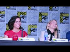 ONCE UPON A TIME Comic Con 2016 Panel Highlights (Pt1) - Lana Parrilla, Colin…