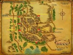 Bree Town Map - The Lord of the Rings Online: Riders of Rohan Wiki ...