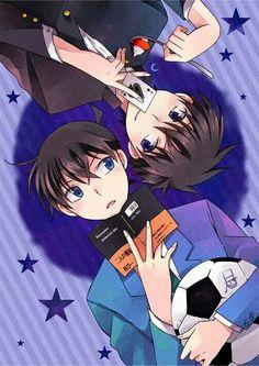Shinichi and Kaito | Detective Conan
