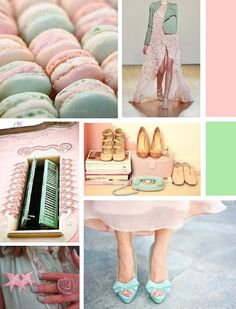 MINT AND PINK! (from my blog)