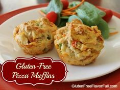 Gluten Free Pizza Muffin Recipe - perfect for packing in lunch boxes