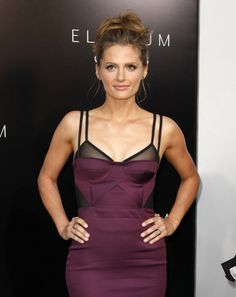 """Stana Katic at the """"Elysium"""" World Premiere on August 7, 2013"""