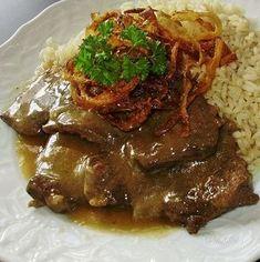 Viedenská roštenka je jedno z mojich najobľúbenejších jedál, ak nie… Beef Recipes, Chicken Recipes, Cooking Recipes, Y Recipe, Modern Food, Good Food, Yummy Food, Czech Recipes, Food 52