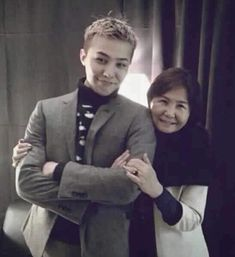 Ji and his momma