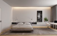 Bed Without Storage, Bedroom Tv Wall, Tv Wall Design, Awesome Bedrooms, Tv Unit, Interior Design, Architecture, Furniture, Home Decor