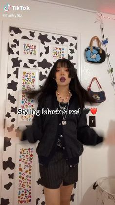 Swaggy Outfits, Edgy Outfits, Teen Fashion Outfits, Grunge Outfits, Cute Casual Outfits, Pretty Outfits, Aesthetic Grunge Outfit, Aesthetic Clothes, Alternative Outfits