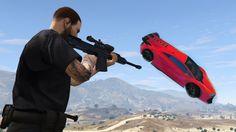 Snipers Vs Super Cars (GTA Online)