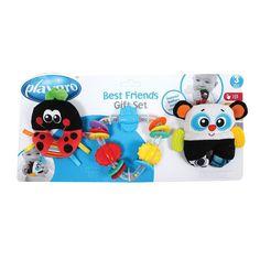 Playgro 3-pk. Best Friends Rattle & Teether Set, Multicolor