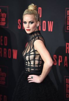 Jennifer lawrence red sparrow premiere