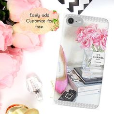 Pink Chanel Fashion Phone Case Coco Chanel iPhone Case Pink