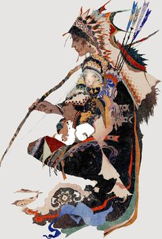 Tagged with art, creativity; The Art of Akiya Kageichi Art Inspo, Kunst Inspo, Inspiration Art, Art And Illustration, Fantasy Kunst, Fantasy Art, Anime Kunst, Anime Art, Art Japonais