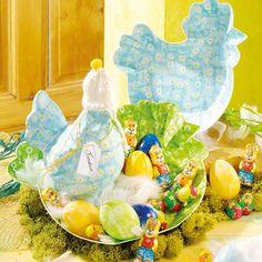 """©efco-freizeit-engel.de - Hühner aus PappArt (Idee mit Anleitung – Klick auf """"Besuchen"""")"""