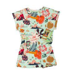 Koolabah Οργανικό Φόρεμα - Delight Floral Tops, Women, Fashion, Top Flowers, Fashion Styles, Fashion Illustrations, Trendy Fashion, Moda