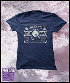 "Harry Potter tshirt ""Mad Eye's polyjuice potion"""