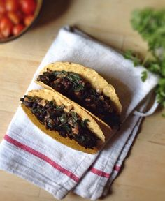 Beans + Greens Tacos with Fresh Guacamole | With Food + Love | #glutenfree #vegan