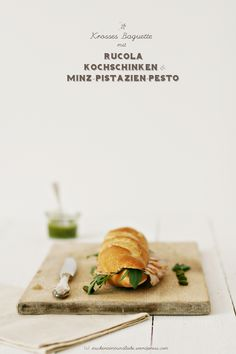 Food / http://zuckerzimtundliebe.files.wordpress.com/2012/03/pestobaguette41.jpg — Designspiration