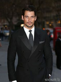David Gandy Arrives At The Glamour Of Italian Fashion - april 1, 2014