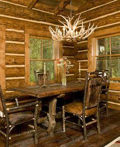 Lost Creek Cabin; Jackson, WY, Teton Heritage Builders.