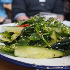 Cucumber and sesame salad | Kitchen by Mike | Rosebery, Sydney