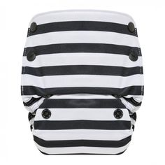 Organic Cotton All in One Cloth Diaper in Onyx Stripe by June & January for GroVia, available Oct. 12. #jjandgrovia #clothdiapers #ecofriendlybaby