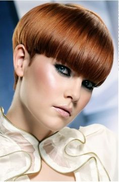 Fabulous The 70S Mushroom Bob Hairstyle Be Mod Pin It From Carden Hairstyle Inspiration Daily Dogsangcom