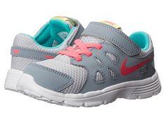Nike Kids Revolution 2 (Infant/Toddler) Wolf Grey/Magnet Grey/Hyper