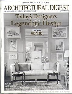 Architectural Digest January 2002
