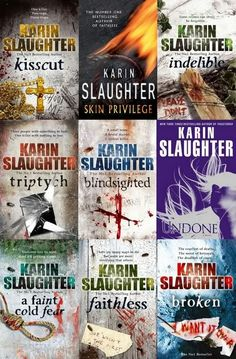 Karin Slaughter has an awesome series. They are quite sick and twisted, but still good!