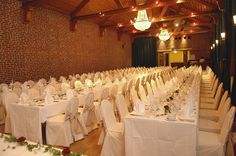 Juhlasali - The Festive Hall #vanajanlinna #hotel #dinner #restaurant