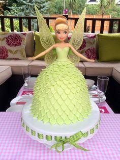 Disney Tinkerbell doll cake