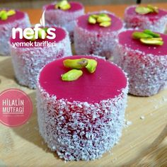 Vişneli Lokum (Rengi Kıvamı Muhteşem) – Nefis Yemek Tarifleri Turkish Delight with Cherry (Color Consistent) # I vişnelilok the the Turkish Delight, Bbq Chicken Sandwich, Frozen Pierogies, Breakfast Tea, How To Cook Potatoes, Best Cake Recipes, Coconut Macaroons, Yellow Cake Mixes, Turkish Recipes