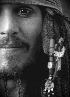 Jack Sparrow aka Johnny Depp.