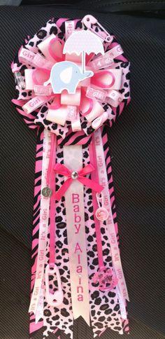 Pink Safari Corsage