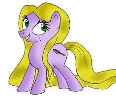 My Little Pony: Rapunzel by azureea