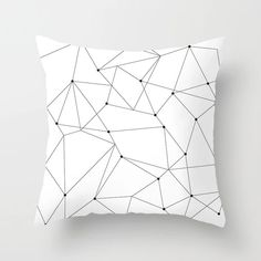 Geometric Cushion Cover Black and White Polyester Throw Pillow Case Striped Dotted Grid Triangular Geometric Art Cushion Cover Geometric Cushions, Geometric Throws, Geometric Art, Geometric Pillow, Geometric Patterns, Leather Pouf Ottoman, Moroccan Leather Pouf, Decorative Pillow Cases, Throw Pillow Cases