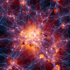 What will happen when the universe ends? Simulation of the universe's large scale structure